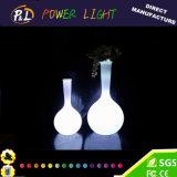 고전적인 빛을내는 화분 LED 꽃 화병