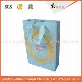 Haute qualité recyclables durable cosmétiques Sac en Papier de cadeau pour l'emballage
