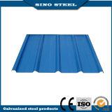 Dx51D Z275 prépeint tôle de toit ondulé