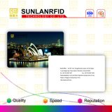 Impressão do cartão do VIP da sociedade do PVC de Sunlanrfid