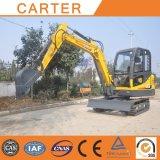 Tipo máquina escavadora hidráulica Multifunction do Backhoe da esteira rolante de CT45-8b (4.5t)
