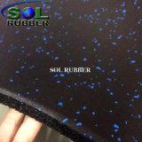 SGS geprüfte Gummifußboden-Matte für Gymnastik