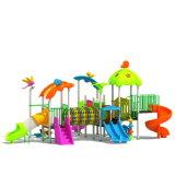 Parque Infantil exterior de plástico para crianças e crianças (JYG-15030)