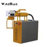 macchina della marcatura dell'incisione del laser della fibra 10With20With30W per il PC dell'ABS pp di Metal&Plastic su industria dell'imballaggio