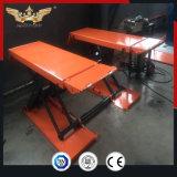 Warehouse 3500kg Mini de perfil bajo la mesa elevadora de tijera hidráulico eléctrico