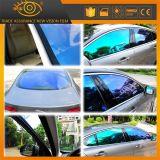 سيّارة زخرفة زجاجيّة يغيّر لون حرباء نافذة لوح فيلم
