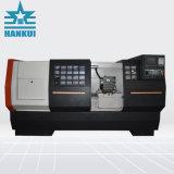 5600kg para a CK80L cama de inclinação da máquina tornos CNC