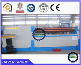 W11H-40X2500 rolos inferiores de alta qualidade Arc-Adjust máquina de laminação de flexão da placa
