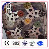 Machine de meulage concrète approuvée du moteur électrique 220V/380V avec l'aspirateur avec le grand escompte