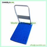 Plastik 150kgs drückt faltbare Plattform-Handkarre von Hand ein