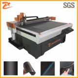 Tejido de fibra de carbono de alta precisión de la máquina de corte de hoja