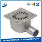 Kundenspezifische Eisen-/Edelstahl-Blech-Herstellung, die für Toiletten-Abfluss stempelt