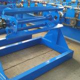 5t Decoiler manual usado na máquina da telhadura