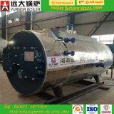 Prix se condensant à gaz horizontal de chaudière à vapeur de Chaud-Vente