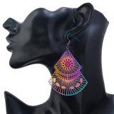 De nieuwe Retro Kleurrijke Oorringen van de Manier van Juwelen