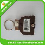 Produto macio de borracha conveniente do PVC de Keychain (SLF-PF075)