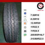강한 질 TBR 타이어, 경트럭 타이어, 버스 타이어 (265/70R19.5, 7.50R16, 8.25R16, 11R22.5, 12R22.5)