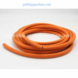 "3/16 "" boyau flexible normal orange de compteur à gaz des BS En559"