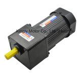 Monofásico/trifásico de 90 mm de 90W CA el engranaje del freno motor