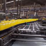 Máquina plástica do transporte de frascos da bebida do alimento