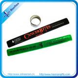 DIY presentes para crianças pulseiras bofetada personalizados com o logotipo personalizado