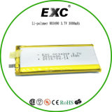 Exc803490 3000mAh de recharger les batteries au lithium-polymère