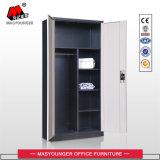 Armário de aço armário metálico de 2 portas