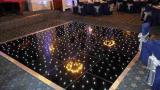 La superficie de acrílico negro Pista de Baile de LED para la decoración de Boda