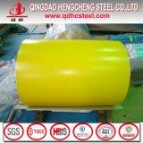 Ral7035 PPGI a enduit la feuille d'une première couche de peinture galvanisée de fer dans la bobine