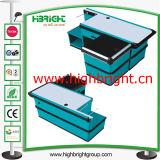 Nacjbarschaftsladen-Zahnstange/kombinierter Kassierer-Schreibtisch für Gemischtwarenladen