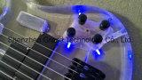 7 строки, акрил светодиодный индикатор электрической гитаре (ГБ-84)