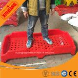 Colorido baratos apilables plástico Kids School Bed para la venta al por mayor