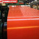 高品質によって塗られる電流を通された鋼鉄コイルを着色しなさい