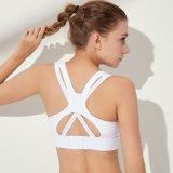 Reggiseno Anti-Cascante della maglia di sport di bei di yoga del reggiseno di forma fisica di funzionamento stereotipi Anti-Shock femminili posteriori di Gather