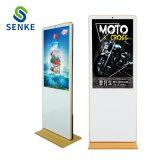 De intelligente Vloer die van WiFi van de Kiosk van de Vertoning van de Reclame LCD de Vertoning van de Reclame voor Openbare Plaatsen bevinden zich
