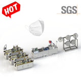 N95 N95 voor eenmalig gebruik KN95 Gezichtsmasker productie machine Gezichtsmasker Lijn