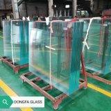 22mm Crystal Ultra Clair Projet de trempage de chaleur entièrement en verre trempé