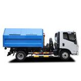 Naveco Yuejin 4X2 7 de la GAC 8 tonne Type de conteneur amovible Camion Poubelle