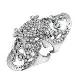De hete Ring van het Korselet van het Gewricht Diamante van de Verkoop Holle uit Dwars