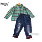 Les enfants d'usure du Boys' de l'été 2019 d'usure de nouveaux enfants Les enfants d'été d'usure du manchon long Fashion