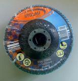 100 X 16mm de Schurende Malende Schijf van de Klep met het Aluminium van het Zirconiumdioxyde