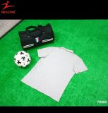 Modèle fait sur commande en gros blanc de T-shirt de polo de Mens d'usine de la Chine