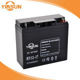 batterie d'acide de plomb solaire de 12V 17ah pour le système de d'éclairage portatif