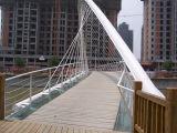 エクスポートの耐久の鉄骨構造橋