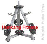 Concentrazione commerciale, macchine di forma fisica, costruzione di corpo di ginnastica, piatto di lusso Tree-PT-857 del peso