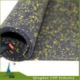 Étage en caoutchouc de couvre-tapis de Csp pour la pièce de gymnastique de Crossfit
