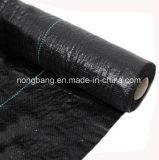 工場は2017温室の床のための黒い編まれたGeotextileの雑草防除のマットを供給する