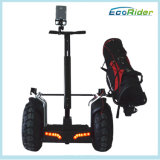 二重電池の電気スクーターのバランスをとっているブラシレス4000Wゴルフ一人乗り二輪馬車の自己