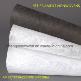Filtro Medios Poliéster Espina dorsal Material Filamento para mascotas Tejido no tejido