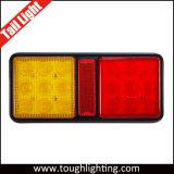 Las luces traseras LED rectangular para camiones con marcha atrás / Stop / La función de las señales de giro